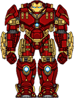 Iron Man Hulkbuster by UltimateLomeli