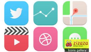 iOS 7 icons by DarkStaLkeRR
