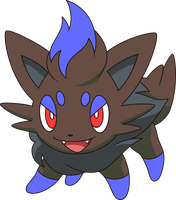 Shiny Zorua by legostormj