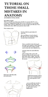 Tutorial on Anatomy Mistakes by daremaker