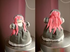 Megurine Luka mini plushie - Witch by martek97