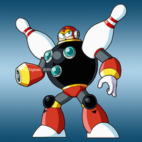 Navi to Robot Master - Bowl Man by MSipher