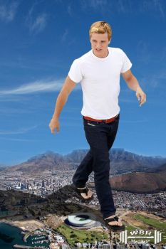 Josh Hutcherson tours South Africa by wannabehuge