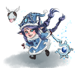 [LoL] Winter Wonder Lulu! by Liaterasu