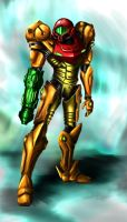 Digital Study - Samus Aran by SailorBacon