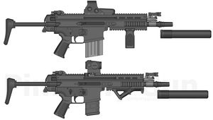 FN-SCAR PDW concepts by bobafettdk