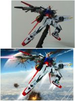Aile Strike Gundam -Super Impose comparison by Benbella-Marzahan