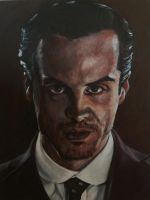 Moriarty-Sherlock by SheenaBeresford
