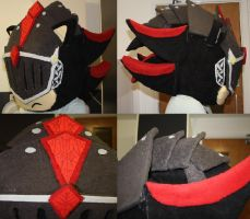 SATBK - Sir Lancelot Cosplay Head FIN by Mew-Mew-Rocky