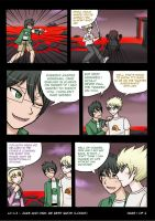 HS LC - minicomic Jake and Dirk: Be best bros p1 by ChibiEdo