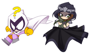 Princess Kenny and Mysterion- Palette Swap by Sketched-UP