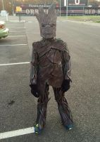 Groot Halloween costume by Ihlecreations