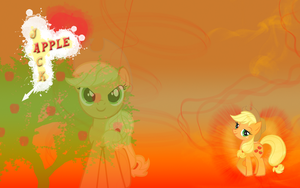 FiM Applejack Wallpaper by M24Designs