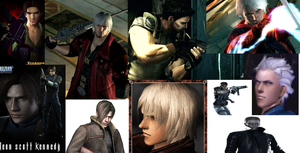 Capcom Men Collage by IceyTHORlover432