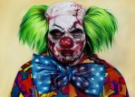 Zombie clown by Epileptic-Zombie