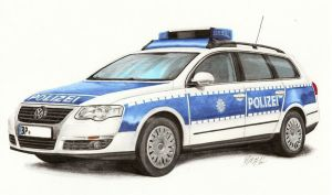 VW Passat B6 Bundespolizei by nessi6688