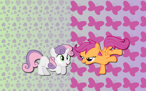 ScootaBelle wallpaper by AliceHumanSacrifice0