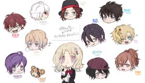 Diabolik Lovers MORE BLOOD~ Drawing Colouring by Kitsunecchi
