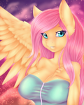 Sunset Fluttershy by CheezayBallz