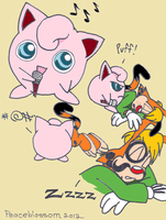 Bonkers meets Jigglypuff by Peaceblossom262