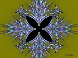 Butteryfly Fractal - Black by BigThunder1
