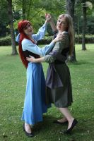+ Ariel and Briar Rose + by carrie-monster
