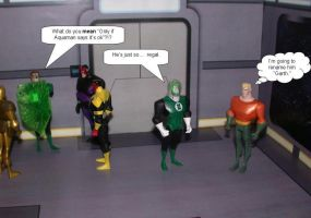 Green Lantern Corp Confusion by Aradrath