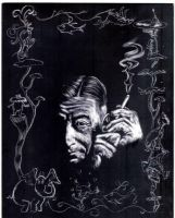 Dr Seuss Etching by Dr-Horrible