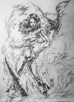 Kitty Pryde by caananwhite