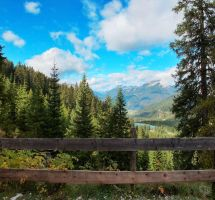 alps view with fence by ThorBet