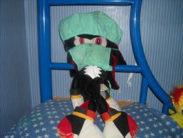 Dr. Shadow plush by Mikeyfan93