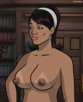 Archer - Lana Kane topless by 2ndChainMale