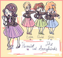 Harriet and the Songbirds by Maneshi