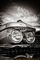 59 cadillac black and white by AmericanMuscle