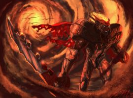 Belial Breaching The Plane by Lalilulelo2003