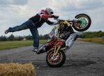 Motorcycle stunt by KacperJ