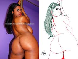 MASERATI XXX ON A STRIPPER PANORAMA 1 by Artistik-Bootya