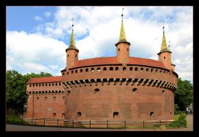Barbican - Part Of The Fortifications Of Cracow by skarzynscy