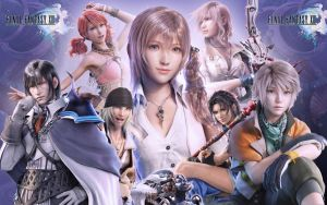 Final Fantasy XIII by stewartwhaley