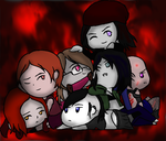 Vampire The Masquerade: Lovely Ladies by GirlScoutTrooper