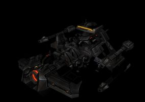 SC2 Battlecruiser by WishmasterInRlyeh