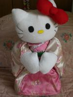 Hello Kitty plushie by Keykee88