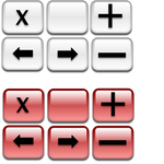 aquabot's aqua buttons by aquabot