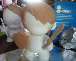 Link Munny WIP 1 by checkmyshoe123