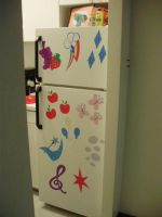 Cutie Marked Fridge by ThisNameIsNotProfane