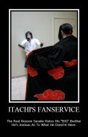 Itachi's Fanservice by pikabellechu