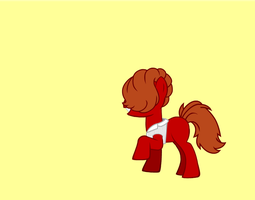 Louis Tomlinson as a MLP (Wallpaper) by WolfieMaster