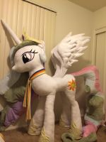 LIFE SIZE Princess Celestia - FINISHED by KLPlushies