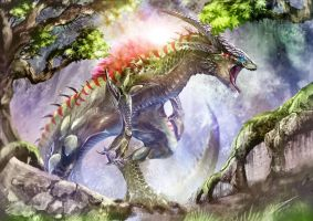 Carnivorous Dragon by Dragolisco