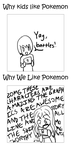Pokemon Preferences Comic by Jarino